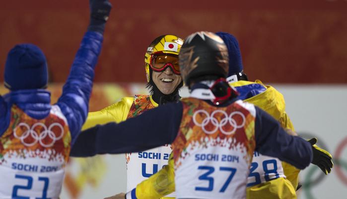 レジェンド葛西がラージヒルで銀メダル!